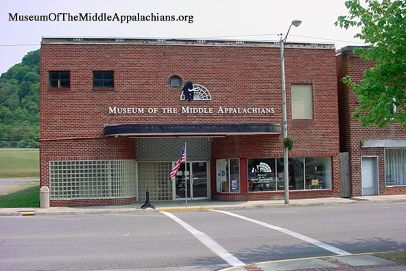 Museum of the Middle Appalachians building outside - Saltville, VA
