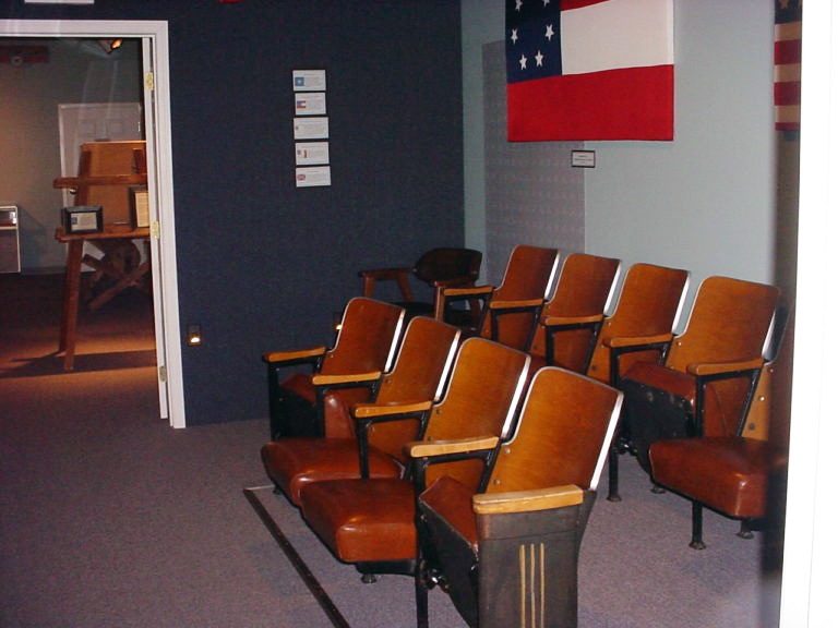 The Salt Theater seating - Museum of the Middle Appalachians - Saltville, VA